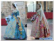 バレンシアの伝統衣装~頭から靴までピカピカ~