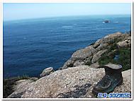 """北スペイン、""""地の果て""""フィニステーレ岬"""