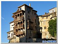 スペイン、クエンカ、宙吊りの家