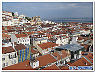 ポルトガル、リスボンの街並み