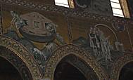 イタリア、シチリア島、モンレアーレの大聖堂