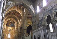 イタリア、モンレアーレの大聖堂