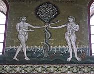 イタリア、シチリアのモンレアーレ大聖堂