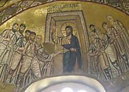 オシオス・ルカス修道院教会の「不信のトマス」