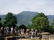 ディオンのローマ遺跡とオリンポス山