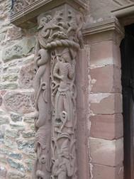 イギリス、キルペックのセント・メアリー&デヴィット教会