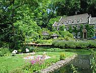 イギリス、コッツウォルズの美しい村バイブリー