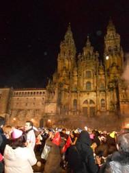 サンティアゴ・デ・コンポステラで迎える新年