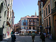 北スペインツアーで訪れるオビエドの旧市街