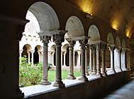 ユーラシア旅行社のスペインツアーで行くジローナの大聖堂回廊