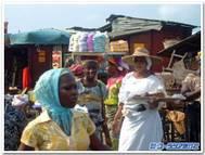 西アフリカの市場